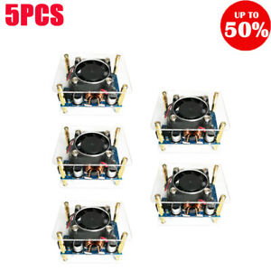 Lcd Dc 5 5 30v To 0 5 30v 60w Buck Boost Power Supply Step Up Down Module 5pcs
