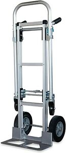Pack n roll 87 308 817 One Size 2 in 1 Hand Truck Dolly Easily Convertible