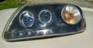 1997 2003 Ford F150 Expedition Used Led Halo Projector Headlights Left right