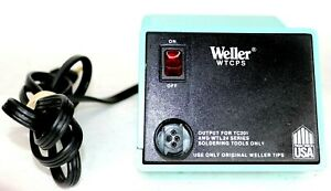 Weller Wtcps Pu120 Soldering Station Power Unit Voltage 120vac 60w 60hz Base