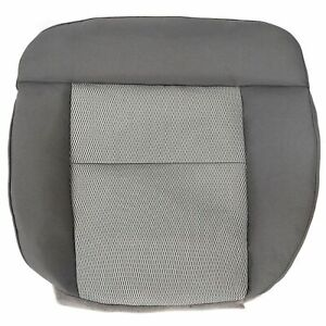 For 2004 05 2006 Ford F 150 Xlt F150 Driver Side Bottom Cloth Seat Cover Gray
