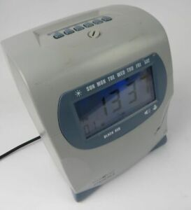 Pyramid Model 2600 Digital Punch Clock Time Clock Employee Time Recorder