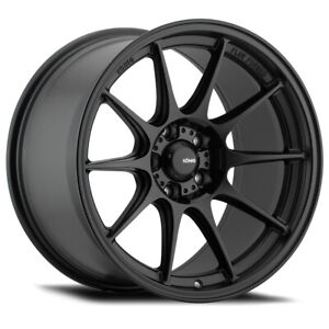 1 New 17x8 Konig Dekagram Black Semi Matte Wheel Rim 5x114 3 Et40 Dk87514405