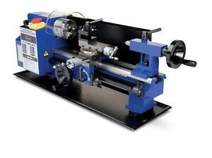 Eastwood Benchtop Mini Metal Variable Speed Lathe 7 X 12 Drilling Machine