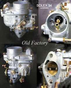 Borgward Isabella 1500 Carburetor 34 Model Solex Type New Recently Made