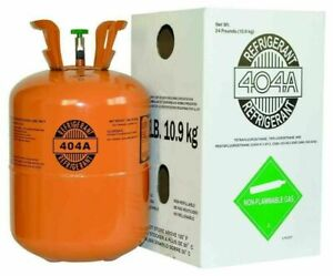 R404a Hvac Refrigerant 24lb Cylinder New factory Sealed fast Shipping