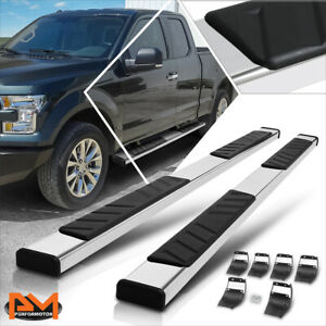 For 15 20 Ford F150 f350 Extended Cab 5 Side Step Nerf Bar Running Board Chrome