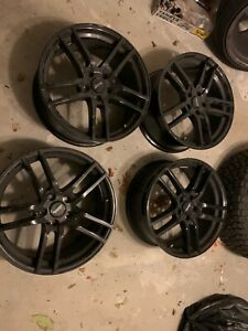 American Racing Rims Used Bends In Wheels 19x8 5 Bolt 5x112 Offset 43