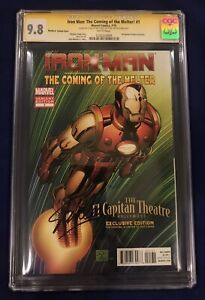 Iron Man The Coming of the Melter #1 CGC 9.8 Signed by Stan Lee on 91st Birthday $795.00