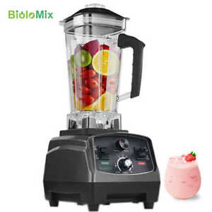 Us eu Quality G5200 Bpa Free 3hp 2200w Heavy Duty Commercial Blender Juicer Ice