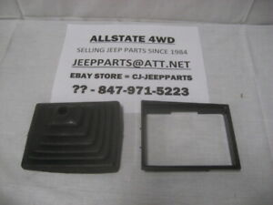 Jeep Cherokee Xj 1987 1996 Shift Boot And Retainer Bezel Ring Manual Trans