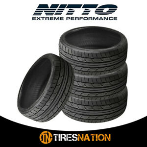 4 New Nitto Nt555 G2 225 50zr17xl 98w Tires