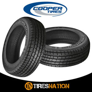 2 New Cooper Evolution Ht 235 70 16 106t All Season Performance Tire