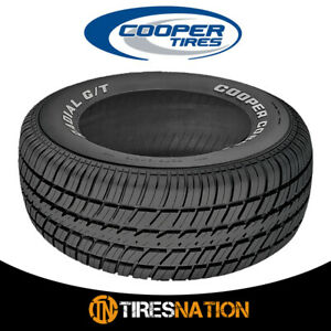 1 New Cooper Radial G t P235 60r14 96t Tires