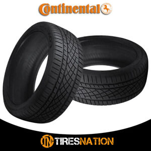 2 New Continental Extremecontact Dws06 295 35r18 99y All season Radial Tire
