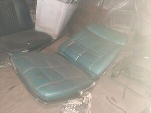 1966 Ford Thunderbird Galaxie Convertible Recline Bucket Seat 1965 1964 Galaxy