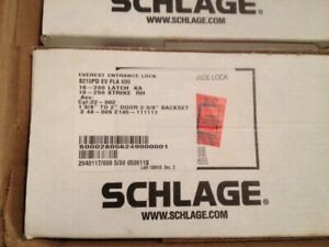 Schlage Everest Entry Single Locking Interconnected Lever Lock New
