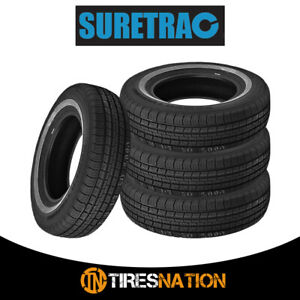 4 New Suretrac Power Touring 155 80r13 79s Tires