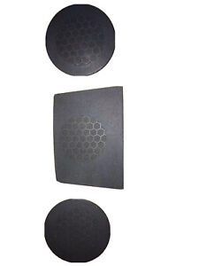 2008 2010 Dodge Charger Dash Speaker Covers All 3 Covers Included