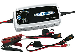 Ctek 12v Multi Us 7002 Battery Charger With Cigarette Lighter Adapter Optima Agm