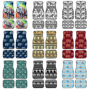 Fashion Animal Elephant Design Car Floor Mat Auto Accessories Front Rear Mats