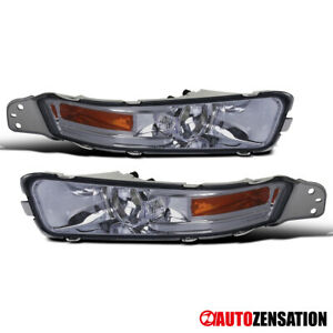 For 2005 2009 Ford Mustang Gt Smoke Front Bumper Signal Lights Lamps Replacement