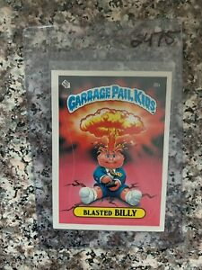 1985 TOPPS GARBAGE PAIL KIDS #8B BLASTED BILLY CHECKLIST BACK  EXMT KRC-2475 $139.02