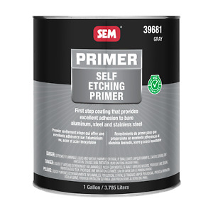 Self Etching Primer Gray gallon