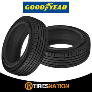 2 New Goodyear Assurance All season 225 60 17 99t Low noise Performance Tire