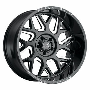 1 New 22x11 5 Black Rhino Reaper Wheel rim Et 44 2215rpr 48170b25