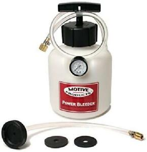 Motive Products 0108 Brake System Power Bleeder For Most Late Model Gm Cars And