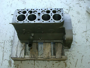 8n Ford Tractor Engine Block New Sleeves Crack Ck d Ready To Install