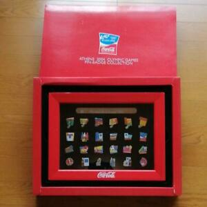 Athens 2004 Olympic Games Coca-Cola Pin Badge Collection Rare