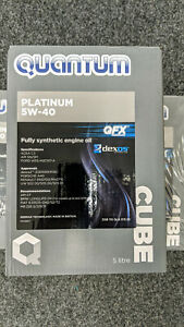 Genuine Vw Quantum Platinum 5w 40 Fully Synthetic Engine Oil 5 Litre Cube