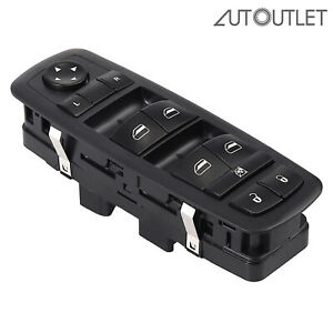 Master Power Window Switch 4602632ag For 08 12 Jeep Liberty Dodge Nitro Single