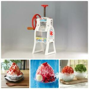 Hatsuyuki Snow Cone Hawaiian Shaved Ice Sliver Maker Cast iron Manual Courier
