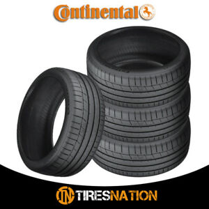 4 New Continental Extremecontact Sport 285 40r17 1w Performance Summer Tire