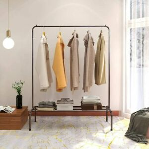 Metal Clothing Garment Racks Commercial Clothing Racks With Top Rod