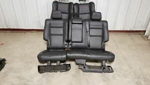 2019 Jeep Grand Cherokee Trailhawk Front And Rear Black Leather Seats Oem