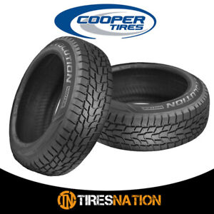 2 New Cooper Evolution Winter 235 70r16 106t Tires
