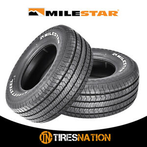 2 New Milestar Streetsteel 245 60 15 100t Track Competition Tire