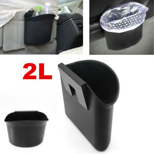 Traveling Car Garbage Can Portable Vehicle Trash Bin Litter Waste Bag Organizer