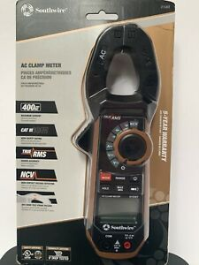 Southwire 21530t Ac Clamp Meter 400ac Cat Iii 600v