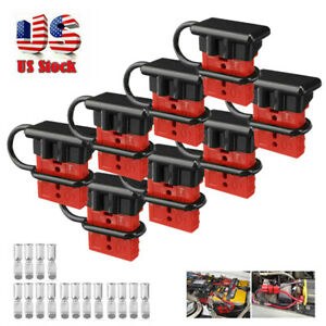 8x Battery Quick Connect Disconnect Tool Winch Electrical Wire Harness Kit Novel