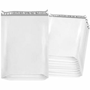Gusseted Poly Mailers 20x24x4 Shipping Bags 4 Pack Of 50 White Large Envelopes