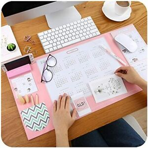 Large Size Mouse Pad Anti slip Desk Mat Waterproof Protector With Smartphone And