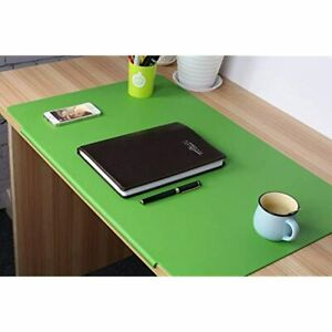 Lohome Large Desk Pads Artificial Leather Laptop Mat With Fixation Lip Perfect