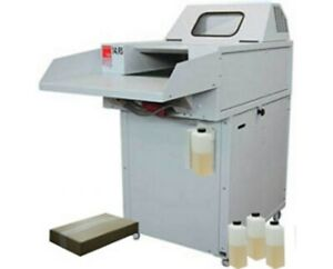 Intimus 14 95 S Large Capacity Industrial Shredder With Oiler Package