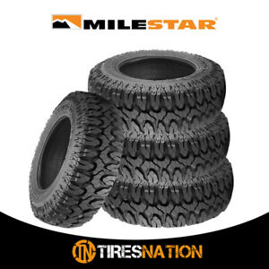 4 New Milestar Patagonia M T 35x12 5x20 125q Max Traction Off Road Tire