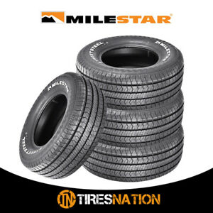 4 New Milestar Streetsteel 245 60 15 100t Track Competition Tire